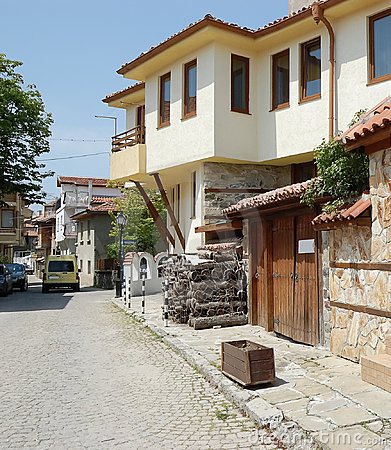 Sozopol town.Bulgaria. Editorial Photo