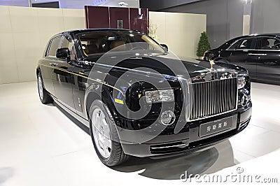 Spöke Rolls Royce Redaktionell Arkivbild
