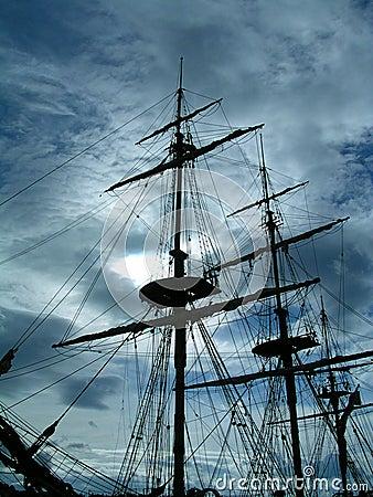 Spöklik ship