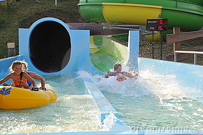 Spaß im Aquapark
