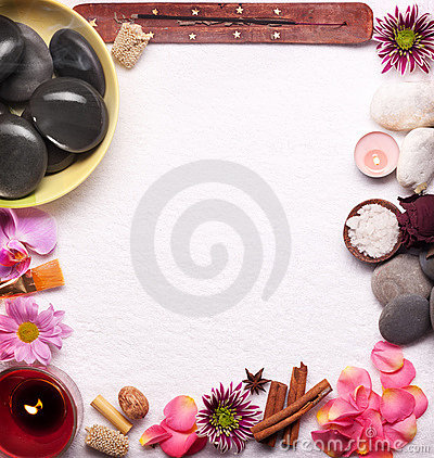 Free Spa Accessories Stock Photo - 18554730