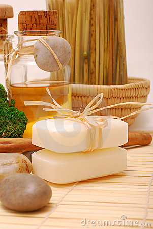 SPA accessories for wellness or relaxing