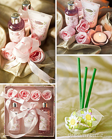 Spa and aromatherapy items