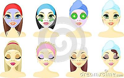 Spa Avatar Icon Women