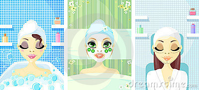 Spa Avatar Icon Women