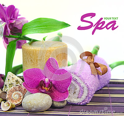 Spa Background Royalty Free Stock Image - Image: 26502206