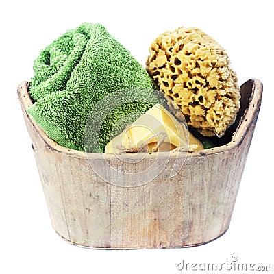 Spa bath setting