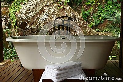 Spa bathtub Seychelles