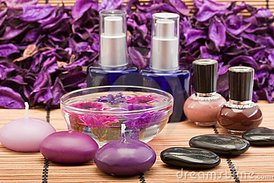 Spa beauty products