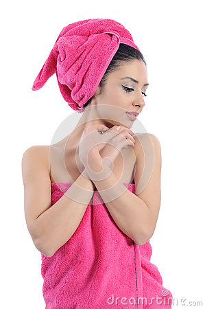 Spa beauty treatment woman
