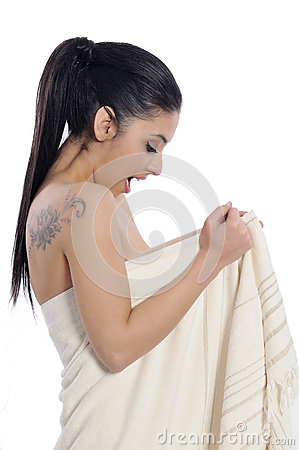 Spa beauty treatment woman