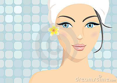 Spa beauty in vector format