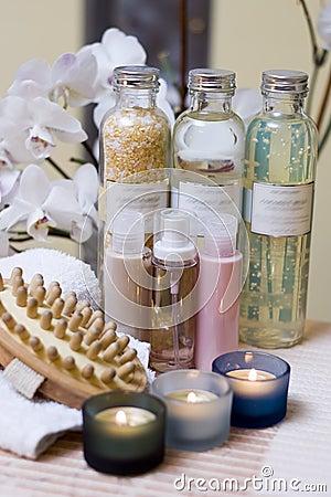 Spa bottles composition