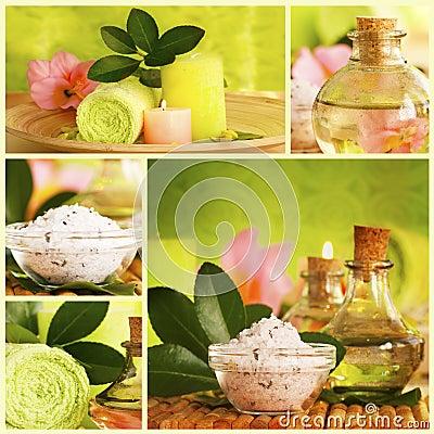 Free Spa Collage Stock Photo - 18956120