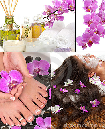 Free Spa Collage Stock Image - 19734151