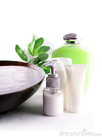 Free SPA Cosmetics Series Stock Image - 4334851