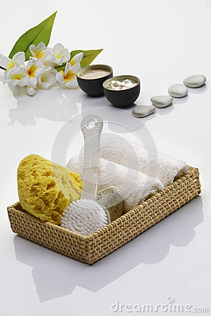 Free Spa Essentials Stock Photography - 33049372