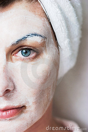 Free Spa Facial Stock Photography - 1328072