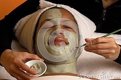 Spa Facial Aroma Mask