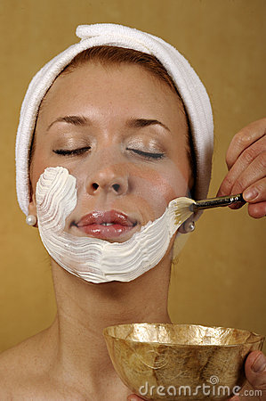 Spa Facial Mask Skincare Treatment