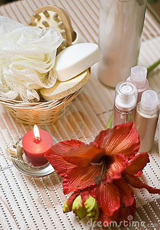 Free Spa Flower Royalty Free Stock Photography - 4023977