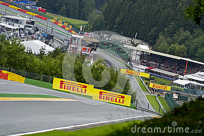 Spa Francorchamps Editorial Image