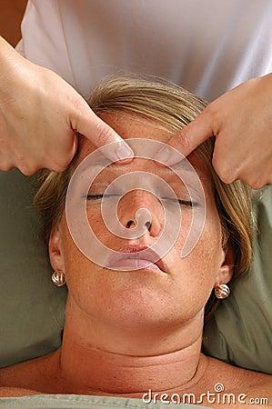 Spa Head Massage