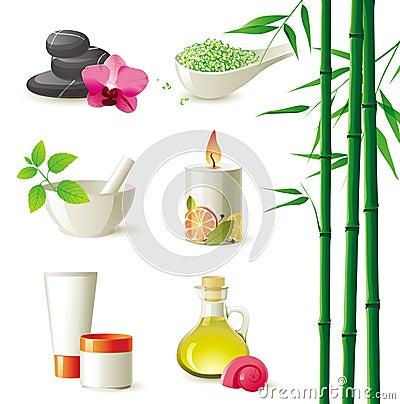 Free Spa Icons Stock Photos - 22553713