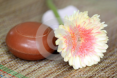 Spa Item with natural soap