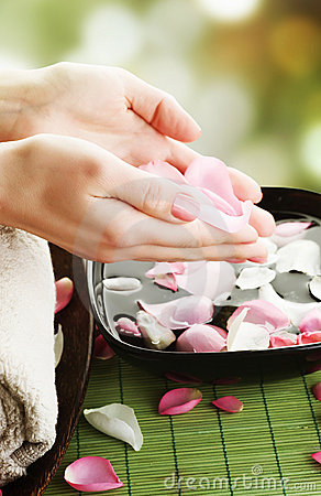 Free Spa.Manicure Royalty Free Stock Photos - 13400018