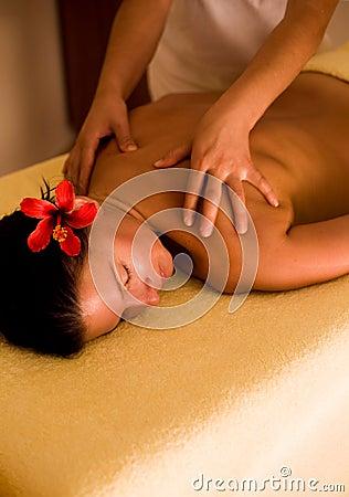 Free Spa Massage Royalty Free Stock Image - 12225836