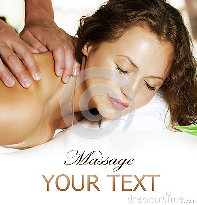 Free Spa Massage Royalty Free Stock Images - 25070869
