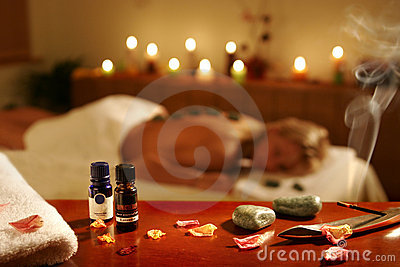 SPA massage in hotel