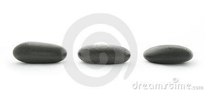 Spa. Massage stones