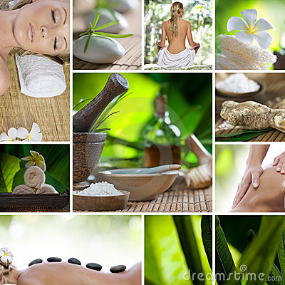Free Spa Mix Royalty Free Stock Photography - 17293277