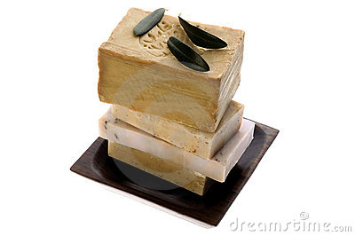 Spa. natural soaps and olive branch