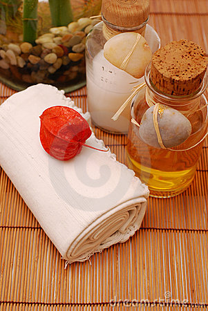 SPA oils for wellness or relaxing