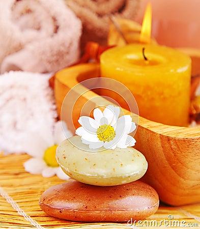 Spa organic soap