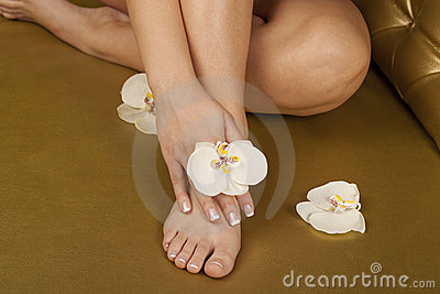 SPA pedicure and manicure