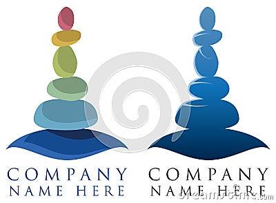 Spa Relax Logo Vector Illustration