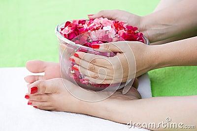 The spa rose bowl