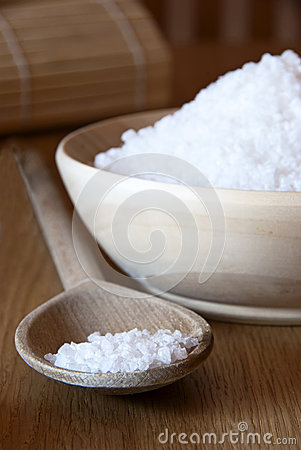 Free Spa Salt Stock Photo - 28483410