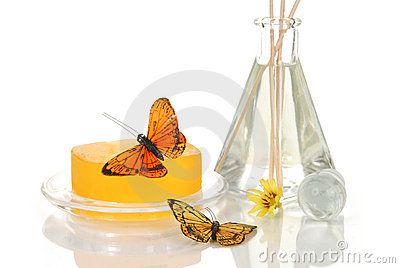 Spa soap and oils
