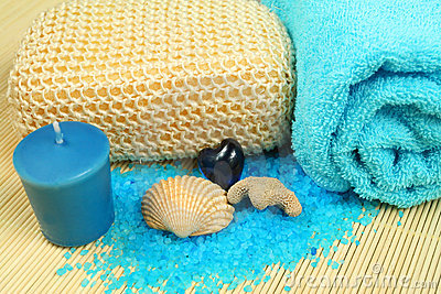 Spa soothe in blue color