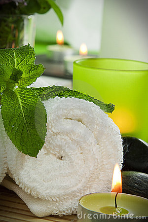 Free Spa Still Life, Detail Royalty Free Stock Image - 17298386