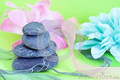 Spa stones & flowers, wellness/beauty care