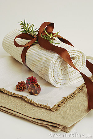 Free SPA Towels Wellness Stock Photos - 4218413