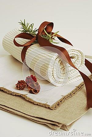 SPA towels wellness