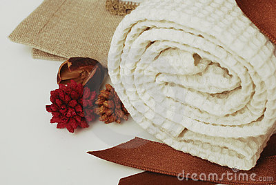 SPA towels wellness