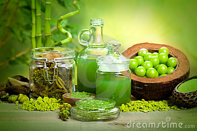 Spa treatments - aromatherapy minerals